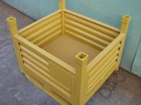 قیمت ساخت باکس پالت فلزی دیواره دار کشویی