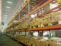 قفسه بندی سنگین فلزی پالت راک انبار ارزان