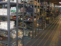 قیمت قفسه بندی انباری مشبک فلزی