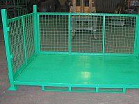 باکس پالت فلزی سردخانه و انبار صنعتی