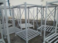 باکس پالت فلزی سردخانه انبار ضد زلزله