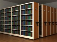 قیمت خرید قفسه فلزی کتاب ریلی و ثابت
