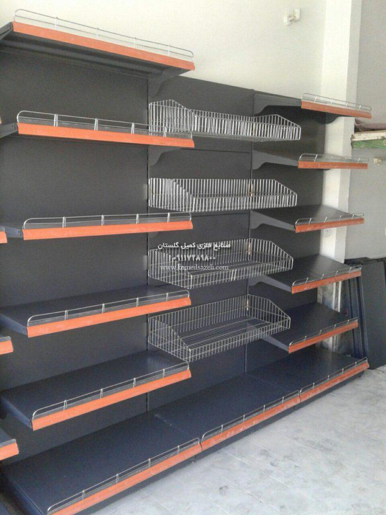 قفسه فلزی مغازه