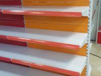 قفسه فلزی رنگی فروشگاه مغازه کتابخانه
