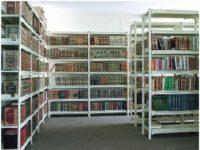 خرید قفسه فلزی کتابخانه فروشگاه مغازه کتاب