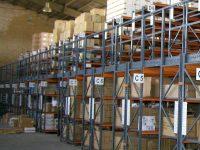 قفسه فلزی بالکی راک انبار صنعتی