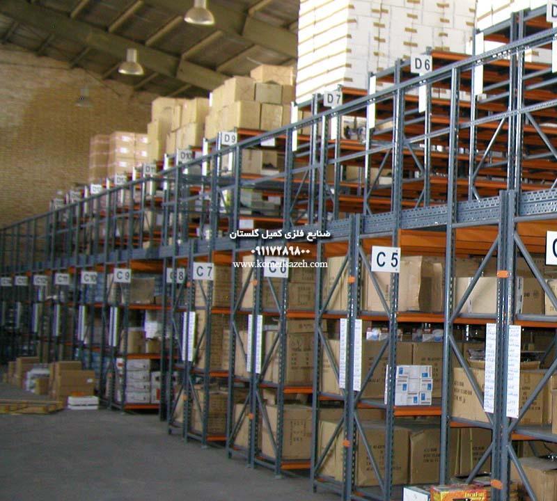 قفسه فلزی بالکی راک انبار صنعتیقیمت خرید قفسه بندی فلزی باکیفیت