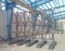 نصب قفسه فلزی سنگین بازویی انبار صنعتی