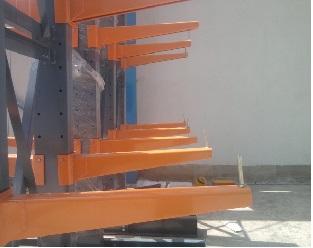 قفسه بندی فلزی بازویی سنگین انبار صنعتی