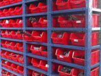 فروش قفسه بندی فلزی انبار پیچ و مهره ای
