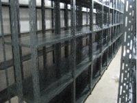 نصب قفسه فلزی انبار پیچ و مهره ای صنعتی