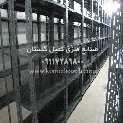 قیمت قفسه فلزی طوسی